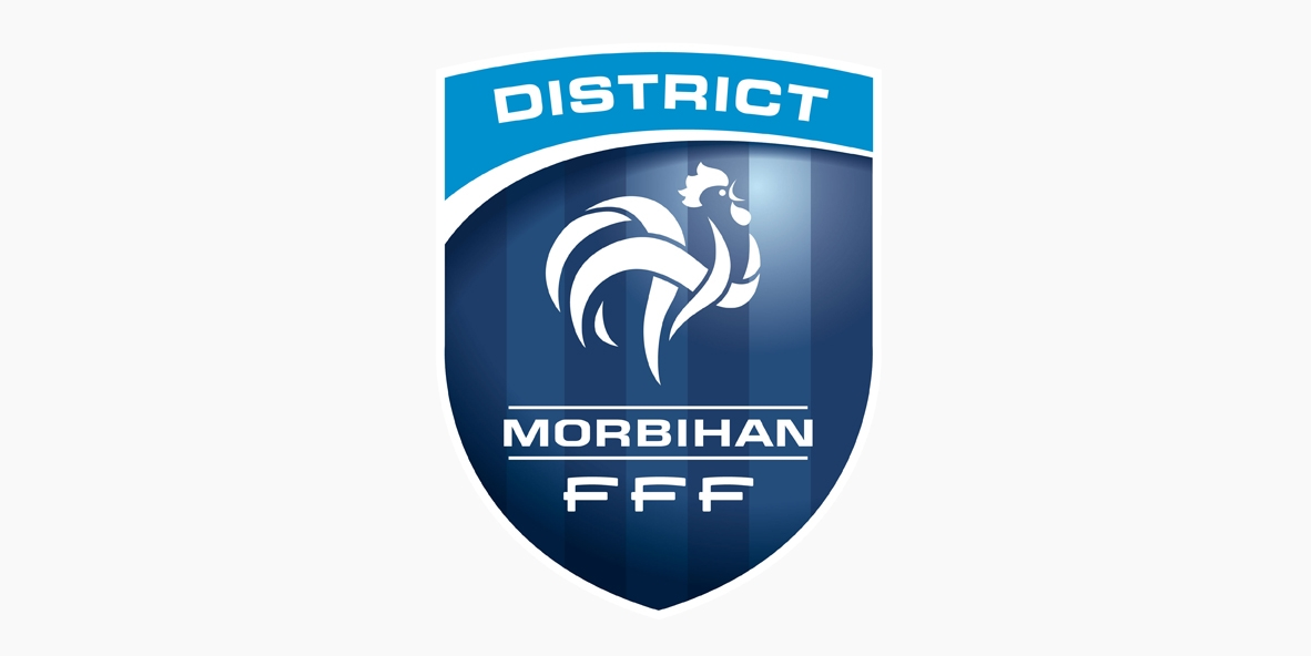 Logo District de Football du Morbihan