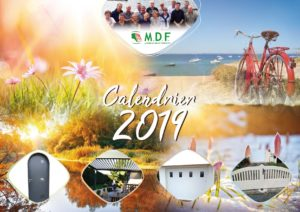 Couverture calendrier MDF-HLB Edition